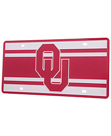 Stockdale Oklahoma Sooners Super Stripe License Plate