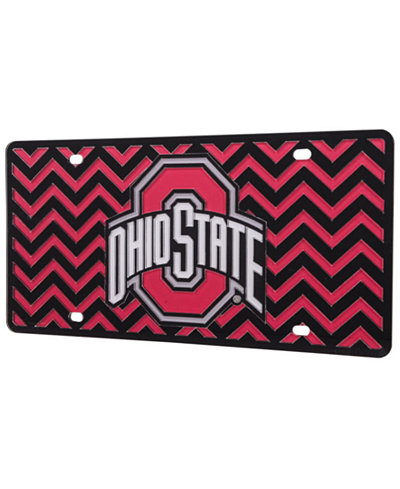 Stockdale Ohio State Buckeyes Chevron License Plate