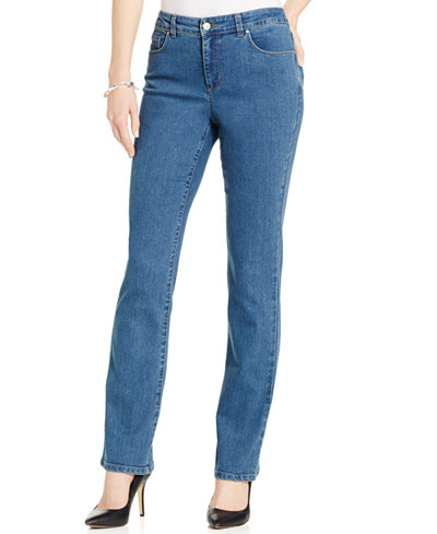 Charter Club Petite Lexington Straight-Leg Jeans, Only at Macy's ...