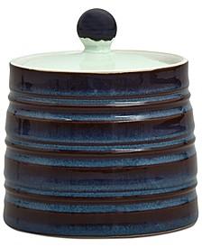 Dinnerware Peveril Collection Stoneware 2-Pc. Lidded Sugar Bowl