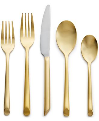 Gold Flatware 20 Piece Set, Created for Macy's, Service for 4