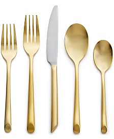 Hotel Collection Gold Flatware 20 Piece Set, Created for Macy's, Service for 4