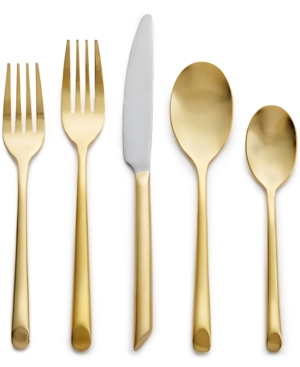 Hotel Collection Gold Flatware 20 Piece Set Created for Macys Service for 4