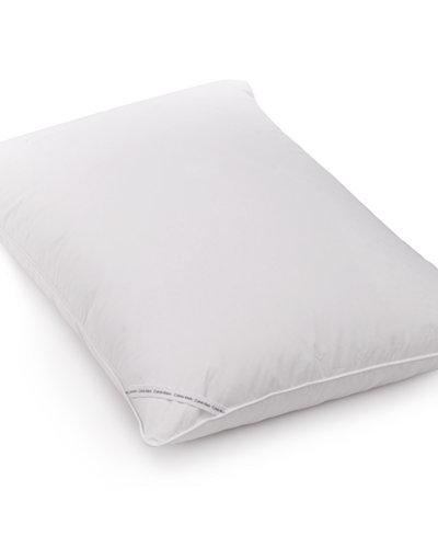 CLOSEOUT! Calvin Klein 300 Thread Count Cotton Twill Down Standard Pillow