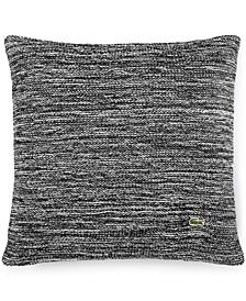 """Chunk Knit Space Dye 18"""" Square Decorative Pillow"""
