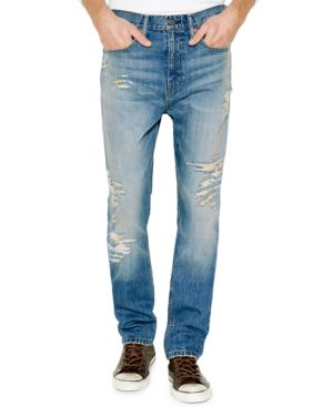 MEN'S 514 STRAIGHT FIT RIPPED JEANS