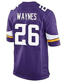 Nike Men's Trae Waynes Minnesota Vikings Game Jersey
