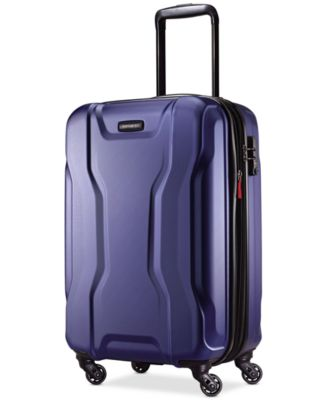 "Image of CLOSEOUT! Samsonite Spin Tech 2.0 21"" Carry-on Hardside Spinner Suitcase, Only at Macy's"