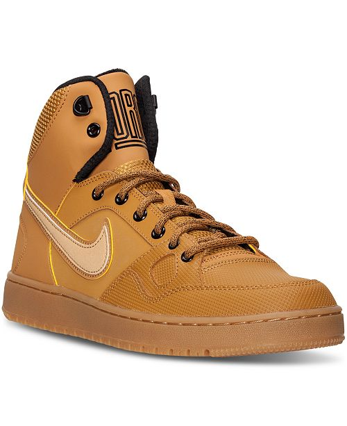d7c155da474 ... Nike Men s Son of Force Mid Winter Casual Sneakers from Finish Line ...