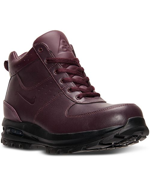 ff5c2c26dde Nike Men s Air Max Goaterra Boots from Finish Line - Finish Line ...