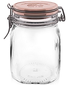 Metallic Fido Storage Jar