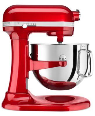 Kitchenaid Classic Glass Bowl kitchenaid mixers - stand and hand mixers - macy's