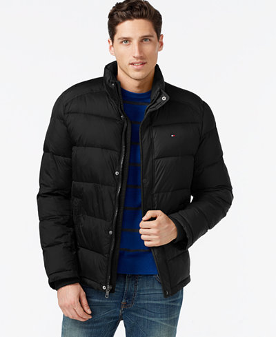 tommy hilfiger classic puffer jacket coats jackets. Black Bedroom Furniture Sets. Home Design Ideas