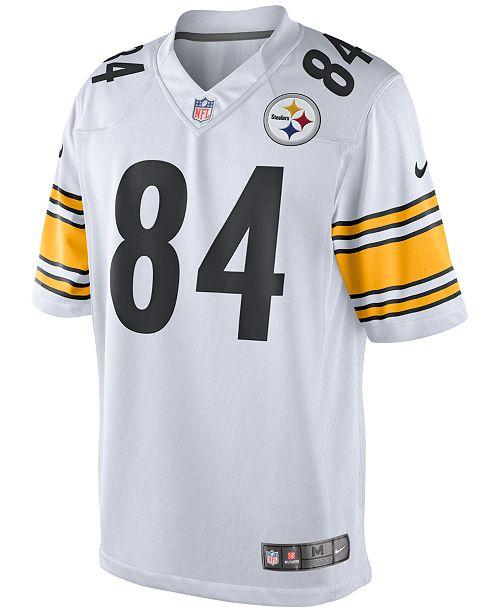 New Nike Men's Antonio Brown Pittsburgh Steelers Game Jersey & Reviews
