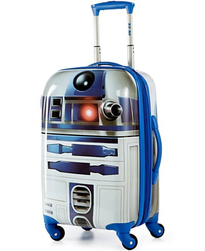 Star Wars R2D2 21 Hardside Spinner Suitcase by American Tourister