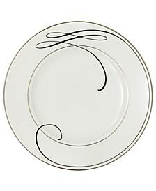 Ballet Ribbon Appetizer Plate