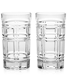 Greenwich Highball Glasses, Set of 2