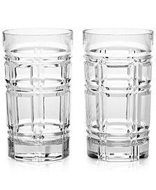 Ralph Lauren Greenwich Highball Glasses, Set of 2
