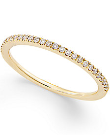 Diamond Pavé Ring (1/8 ct. t.w.) in 14k Gold or White Gold