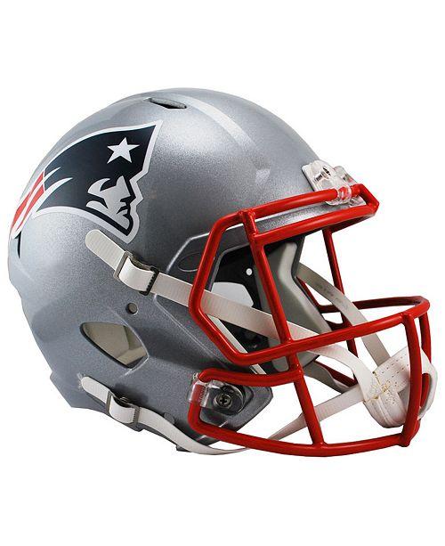 8aaaecff3ea Riddell New England Patriots Speed Replica Helmet   Reviews - Sports ...