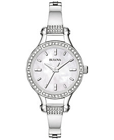 Bulova Women's Stainless Steel Bracelet Watch 96L128