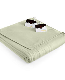 Biddeford Comfort Knit Fleece Heated Queen Blanket