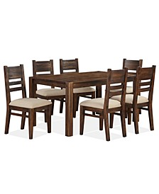 Avondale 7-Pc. Dining Room Set, Created for Macy's,  (Dining Table & 6 Side Chairs)
