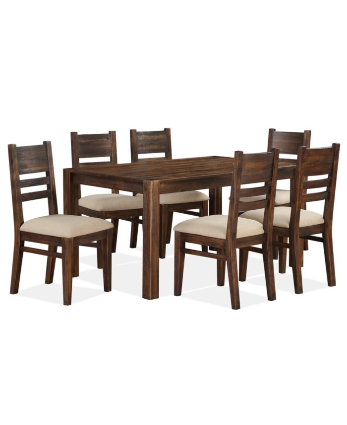 Furniture Avondale 7-Pc. Dining Room Set, Created for Macy's,  (Dining Table & 6 Side Chairs) & Reviews - Furniture - Macy's