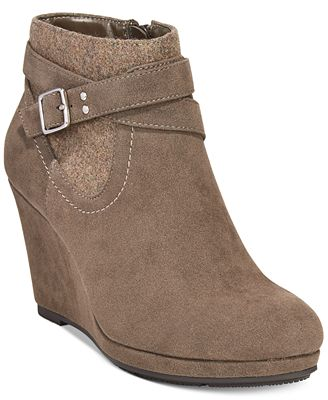 style co platform wedge booties only at macy s