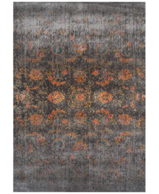 """CLOSEOUT! Sultan Prens Charcoal 5'3"""" x 7'7"""" Area Rug"""