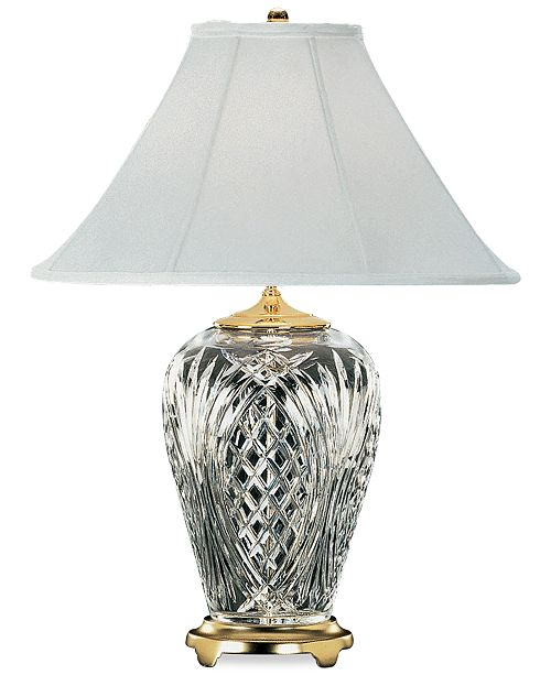 Waterford kilkenny brass crystal table lamp lighting lamps kilkenny brass crystal table lamp 1 reviews 71550 mozeypictures Image collections