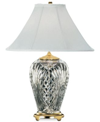 Waterford Kilkenny Brass U0026 Crystal Table Lamp