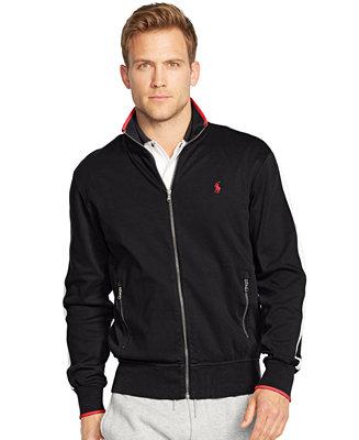 Polo Ralph Lauren Men S Full Zip Interlock Track Jacket
