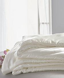 CLOSEOUT! Donna Karan  Silk Essentials Pearl King Comforter Insert