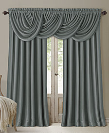 Elrene All Seasons Faux Silk Window Treatment Collection