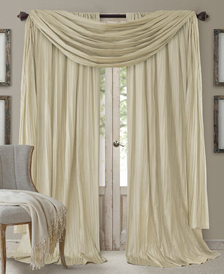 Elrene Athena Rod Pocket 52 Quot X 95 Quot Pair Of Curtain Panels