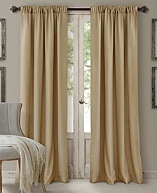 """Cachet 52"""" x 95"""" Faux Silk 3-in-1 Curtain Panel"""