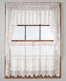 Joy Lace Tier & Valance Collection