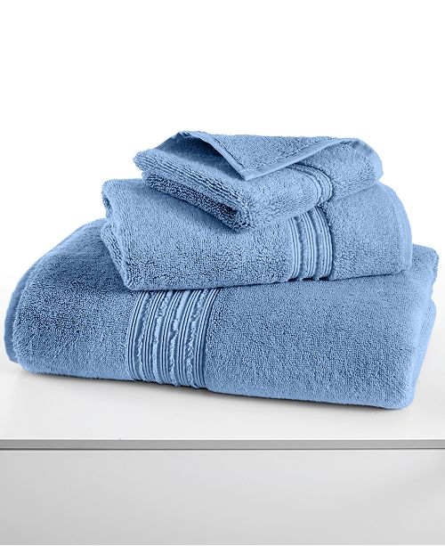 Hotel Collection CLOSEOUT! Turkish Bath Towel Collection, 100% Turkish Cotton, Created for Macy's