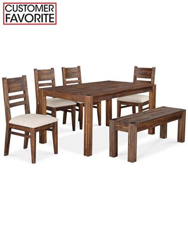 Avondale 6 Piece Dining Room Furniture Set Furniture Macy 39 S