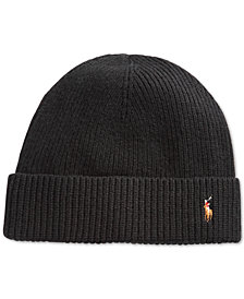 Polo Ralph Lauren Men's Signature Cold Weather Cuff Hat