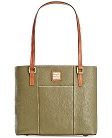 Dooney & Bourke Pebble Leather Lexington Shopper