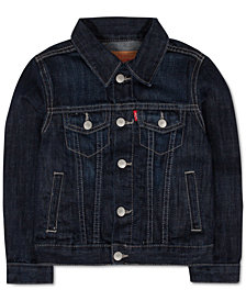 Levi's® Trucker Denim Jacket, Big Boys