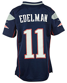 Nike Kids' Julian Edelman New England Patriots Game Jersey, Big Boys (8-20)