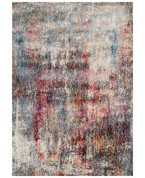 "Dalyn CLOSEOUT! Modern Abstracts Echo Multi 5'3"" x 7'7"" Area Rug"