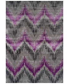"CLOSEOUT! Dalyn Modern Abstracts Chevron Orchid 3'3"" x 5'1"" Area Rug"