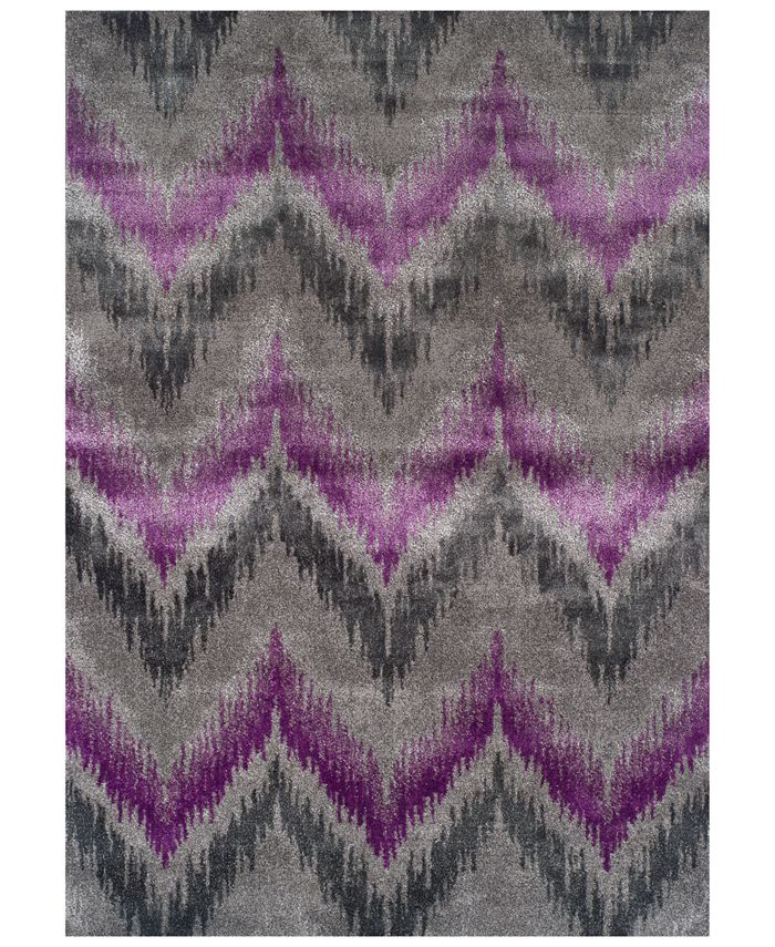 Dalyn - Modern Abstracts Chevron Orchid Area Rugs