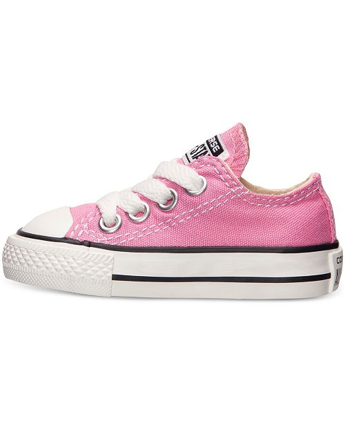 dd85daf6f98d ... Converse Toddler Girls  Chuck Taylor Original Sneakers from Finish ...
