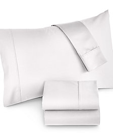 CLOSEOUT! Highland Queen 4-Pc Sheet Set, 600 Thread Count, Created for Macy's