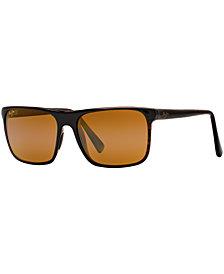 Maui Jim Polarized Sunglasses, 705 Flat Island